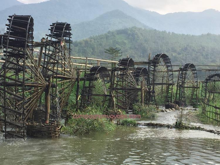 paysages à Puluong- Nord vietnam
