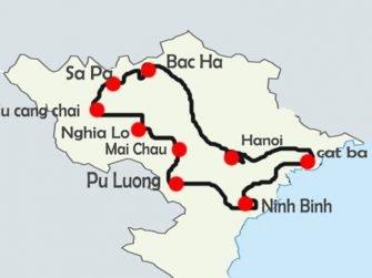 découvrir nord vietnam 10 jours