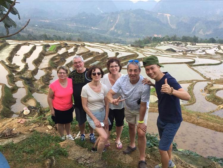 expériences pour faire la randonnée à Pu Luong