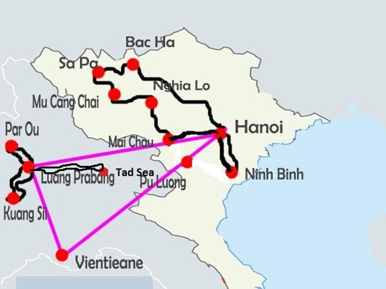 Nord-Vietnam-Laos- 2 -semaines
